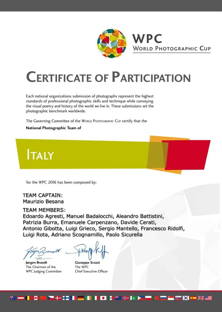 150584 WPC_certificates_participation_2016_ITALY